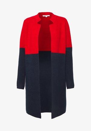 BLOCK - Cardigan - rouge/marine