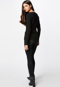 Morgan - MOJO - Strickpullover - black - 2