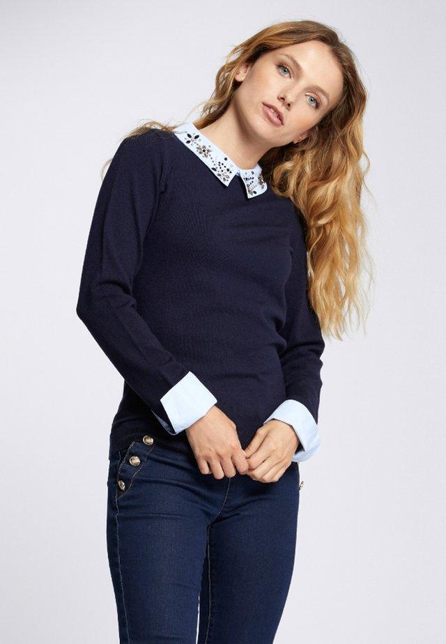 MISHI - Pullover - dark blue