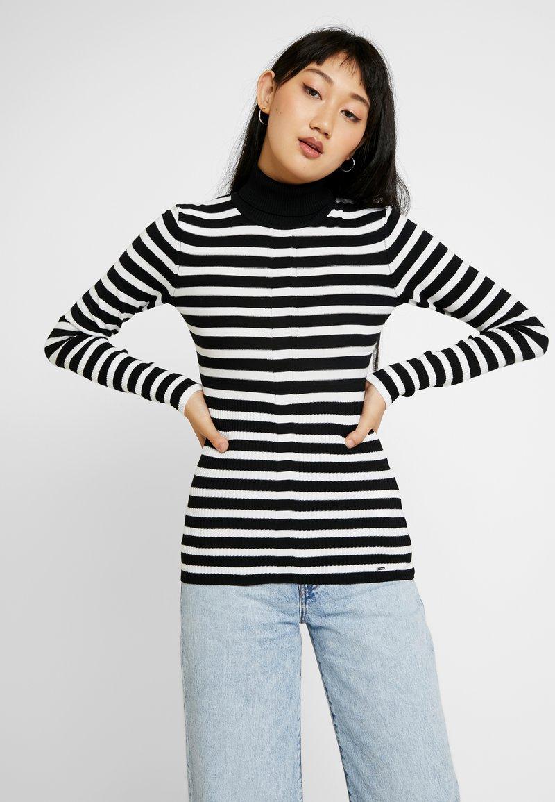 Morgan - Jersey de punto - noir/off white