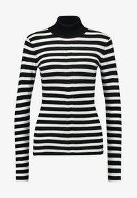 Morgan - Jersey de punto - noir/off white - 3