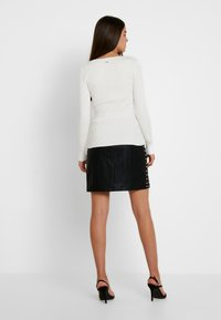 Morgan - MALIKO - Stickad tröja - off white - 2