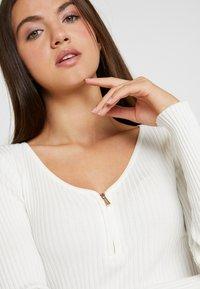 Morgan - MALIKO - Stickad tröja - off white - 4