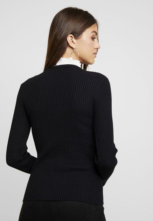 najlepszy Morgan Sweter - noir Odzież Damska PSNA-OS8