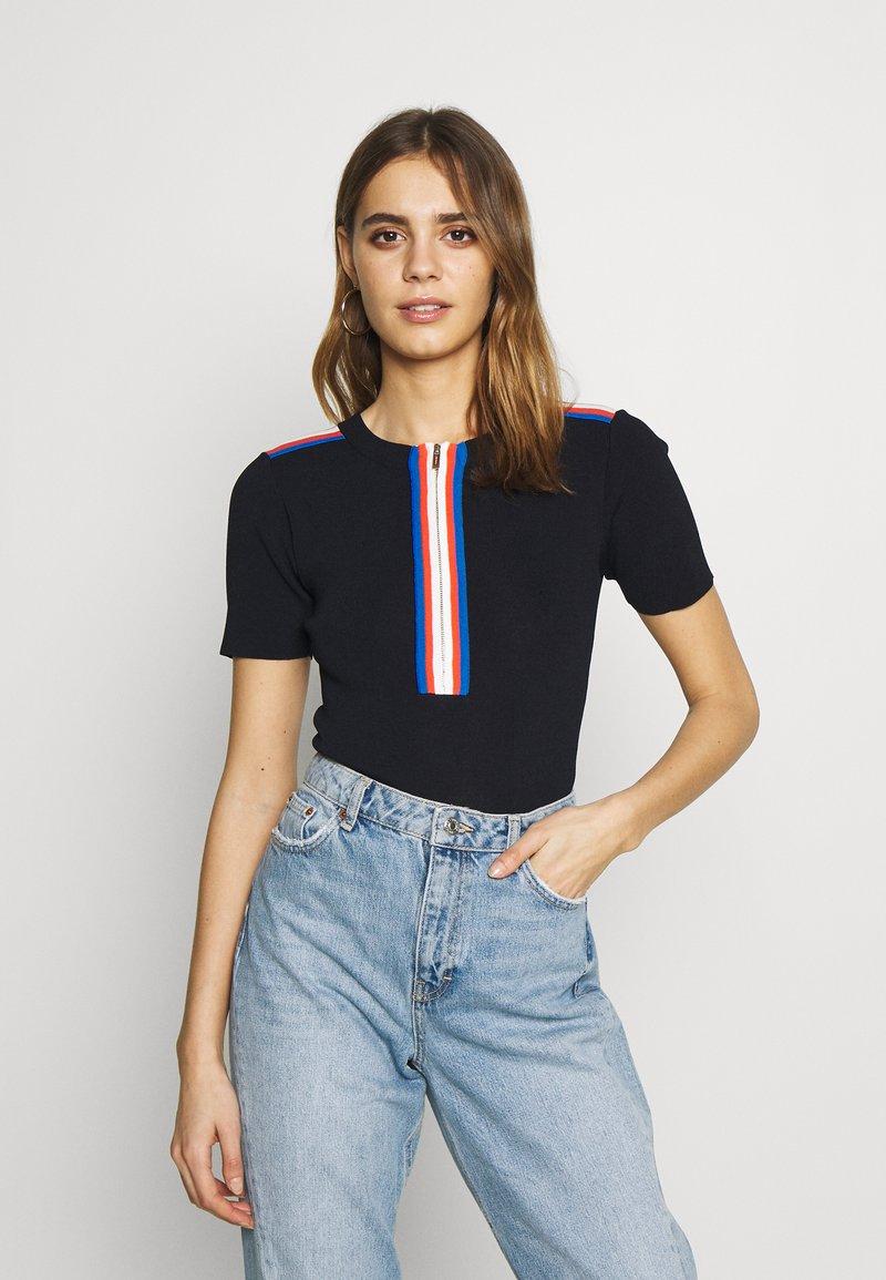 Morgan - T-shirt imprimé - marine