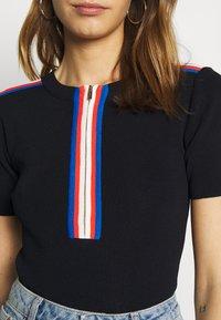 Morgan - T-shirt imprimé - marine - 5