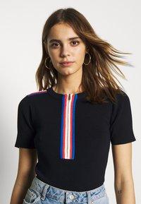 Morgan - T-shirt imprimé - marine - 3