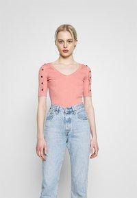 Morgan - T-Shirt print - terracota - 0