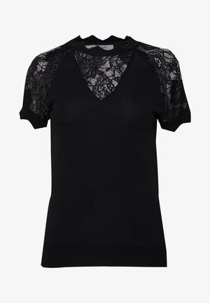MARY - Print T-shirt - noir
