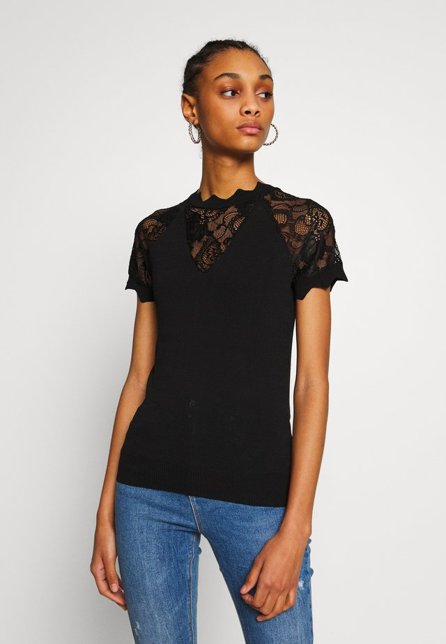 MARY - T-shirt con stampa - noir