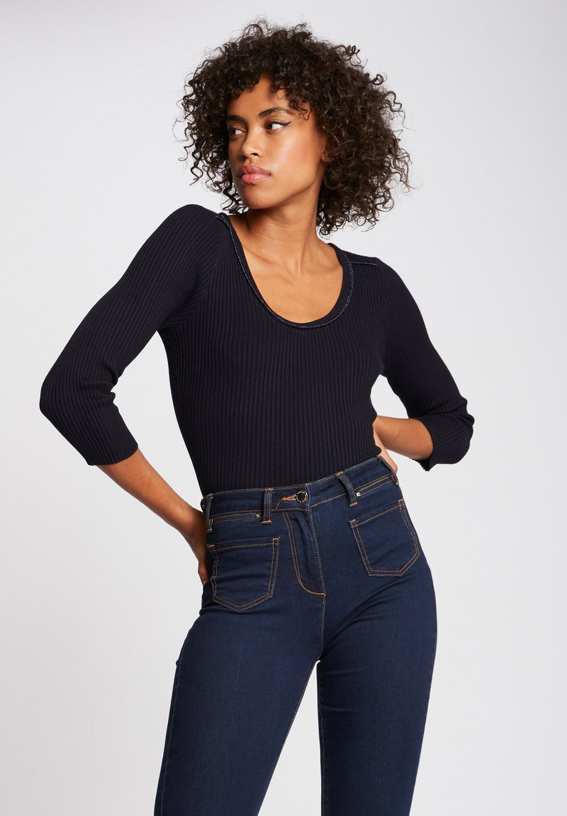 Morgan - 3/4-LENGTH SLEEVES  - Jumper - dark blue