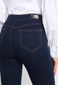 Morgan - PONTI - Slim fit jeans - dark blue denim - 4