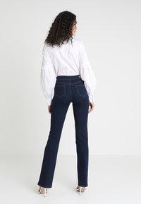 Morgan - PONTI - Slim fit jeans - dark blue denim - 2