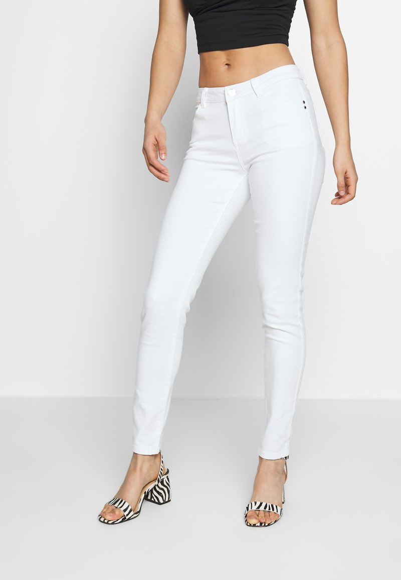 Morgan - PETRA - Jeans Skinny - off white
