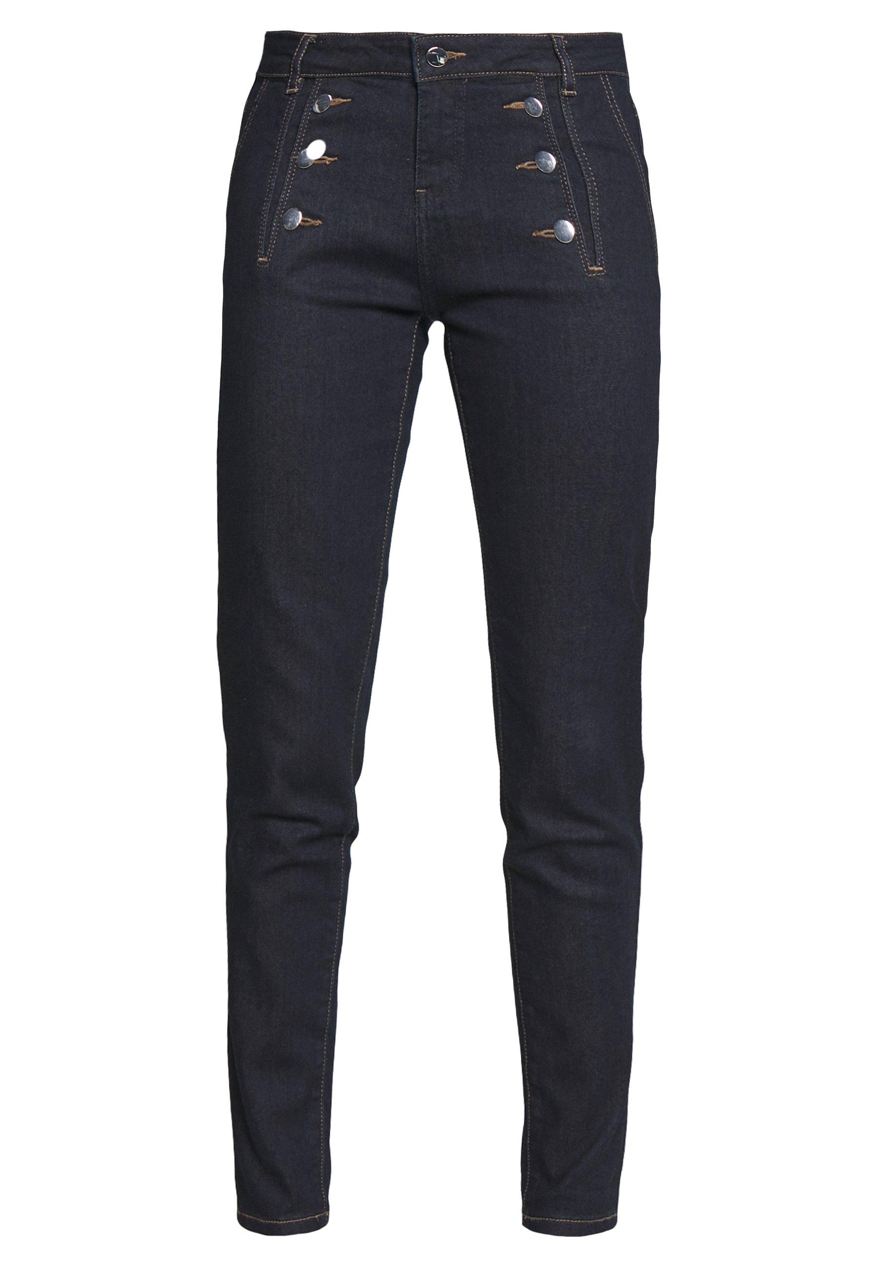 Morgan Plage - Jeans Skinny Fit Blue Denim