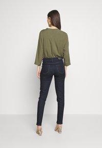 Morgan - PLAGE - Jeans Skinny Fit - blue denim - 2