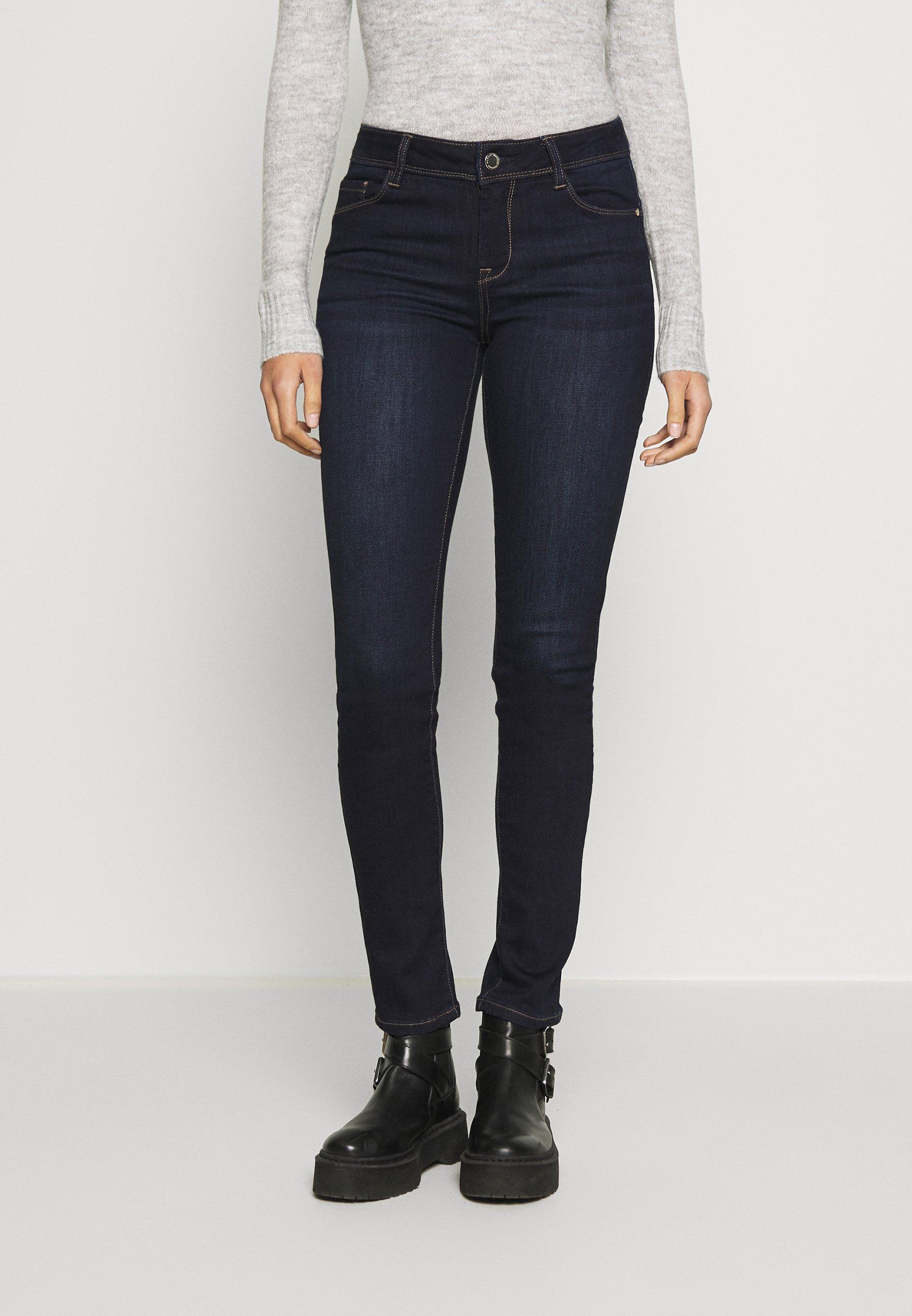 Morgan POM - Jeansy Skinny Fit - jean brut