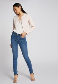 Morgan - WITH POCKETS - Jean slim - bleached denim - 1