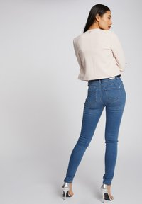 Morgan - WITH POCKETS - Jean slim - bleached denim - 2