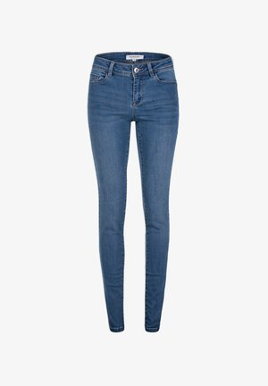 WITH POCKETS - Jeans Slim Fit - bleached denim