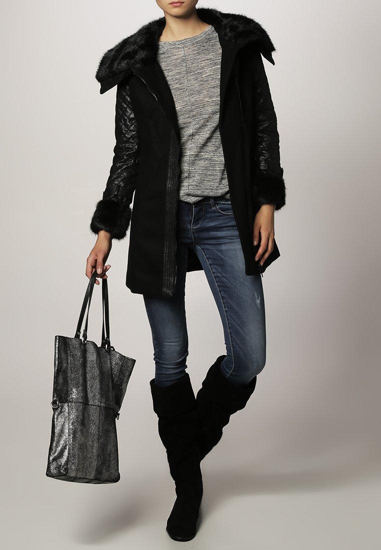 Morgan - Manteau court - noir
