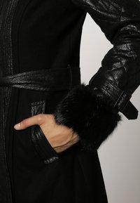 Morgan - Halflange jas - noir - 5