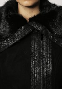 Morgan - Halflange jas - noir - 4