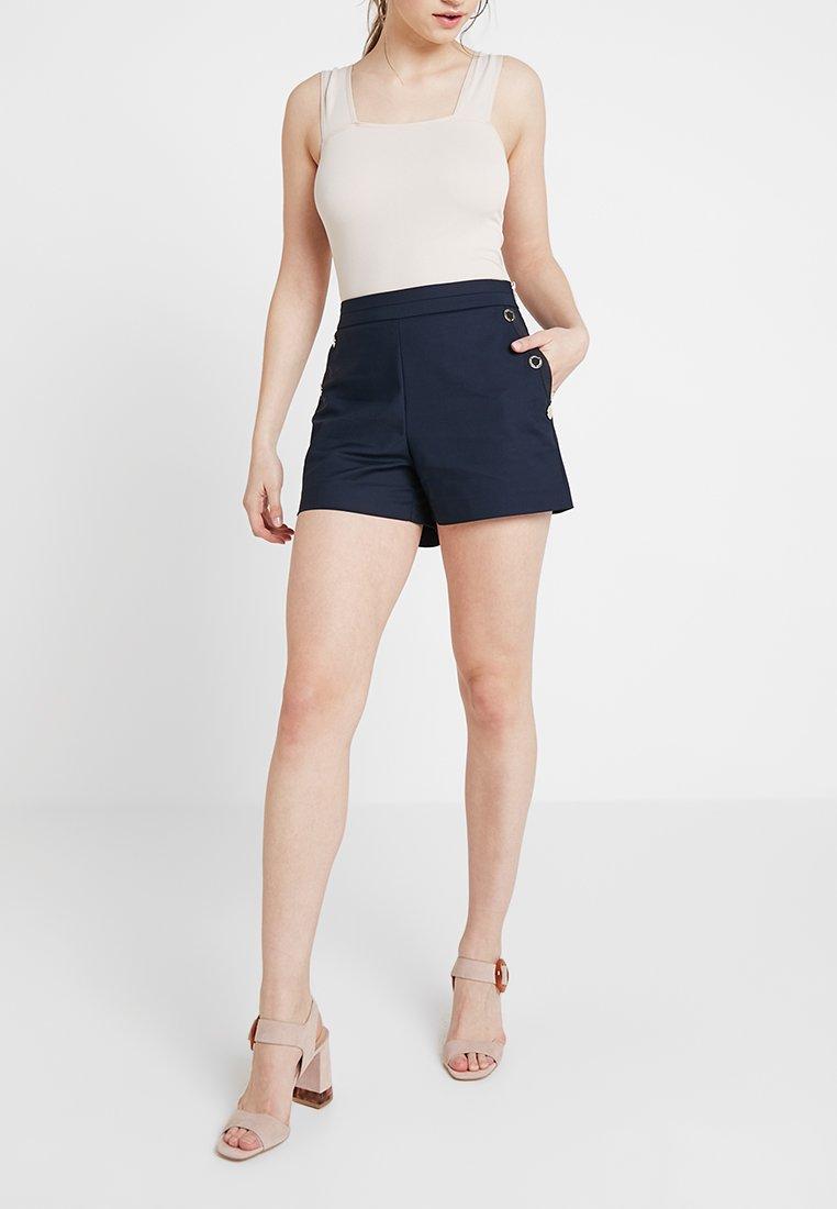 Morgan - SHOUPI - Shorts - navy