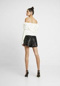 Morgan - SHATTY - Shorts - noir - 2