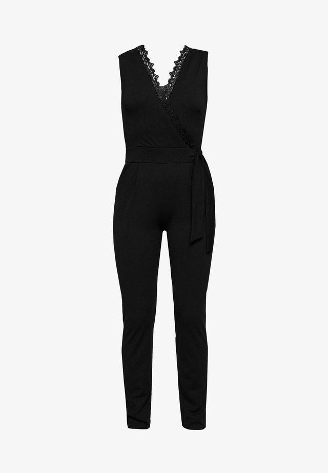 Overall / Jumpsuit - noir