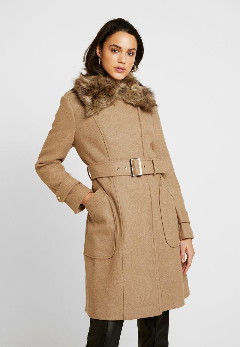 Morgan - GLOW - Classic coat - camel