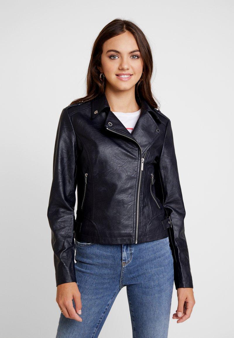 Morgan - GARA - Faux leather jacket - noir