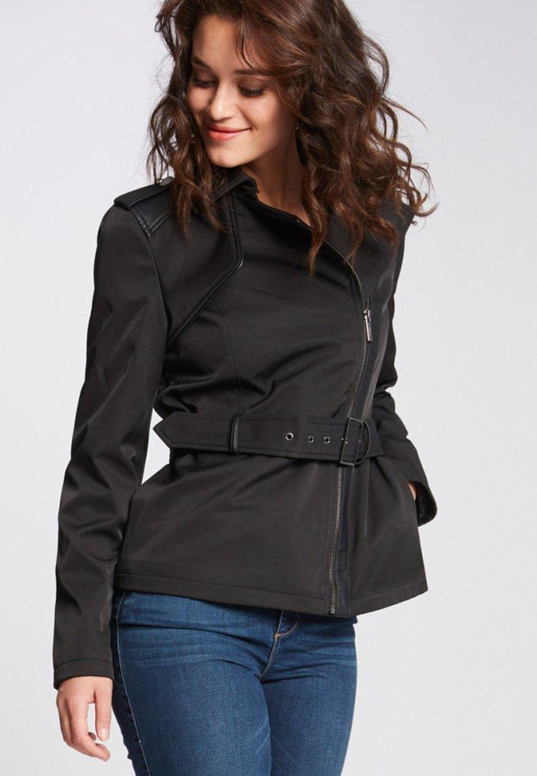 Morgan - Trenchcoat - black