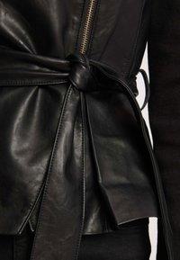 Morgan - Faux leather jacket - black - 3
