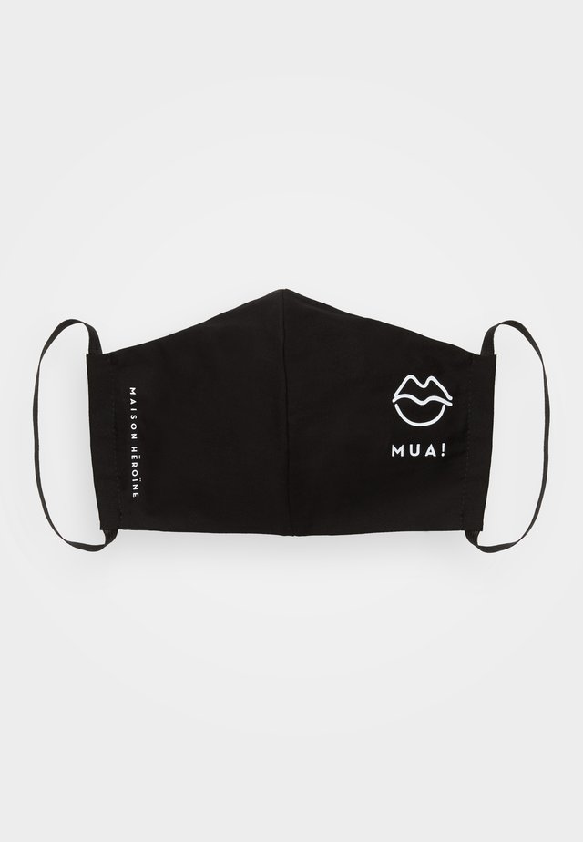 KISS - Stoffmaske - black
