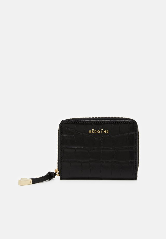 ZOE MEDIUM ZIPAROUND WALLET - Portefeuille - black