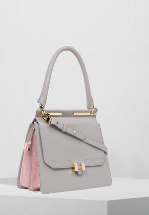 MARLENE TABLET - Handbag - grey/pastel  pink/gold