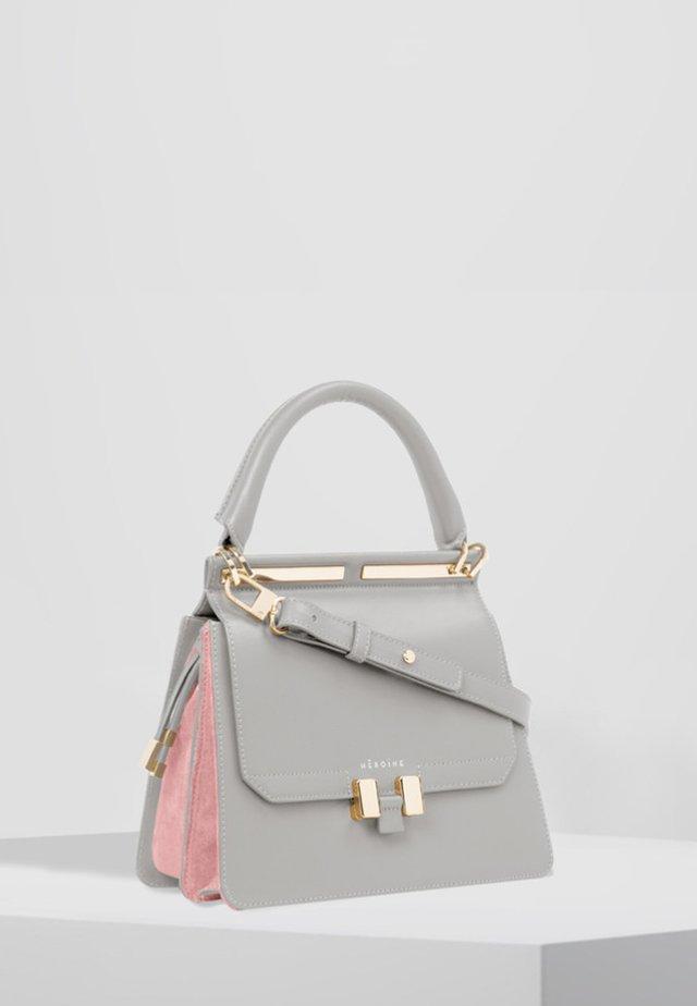 MARLENE - Handbag - grey/pastello rosé/gold