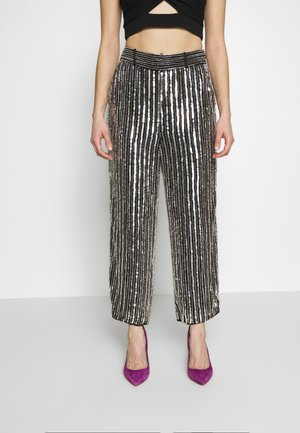 ARGENTO TROUSERS - Trousers - silver
