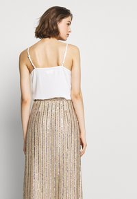 MANÉ - LAELIA SKIRT - A-line skirt - champagne/gold - 3
