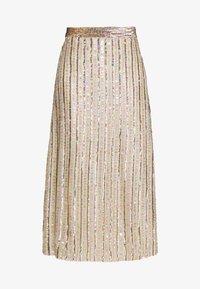 MANÉ - LAELIA SKIRT - A-line skirt - champagne/gold - 4