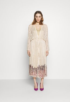ELENA DRAWSTRING - Cocktail dress / Party dress - champagne/rose