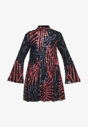 WILLOW DRESS - Robe de soirée - black/rose