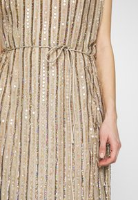 MANÉ - LAELIA DRESS - Occasion wear - champagne/gold - 5