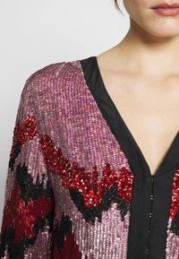MANÉ - RAE DRESS - Cocktail dress / Party dress - lilac/rouge - 3