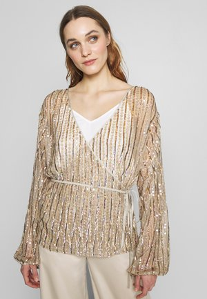 LAELIA - Blouse - champagne/gold