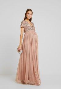 Maya Deluxe Maternity - Day dress - pale mauve - 1