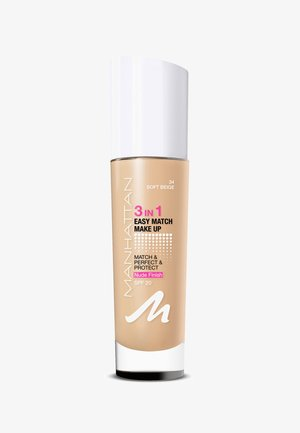 3IN1 EASY MATCH MAKE UP - Foundation - 34 soft beige