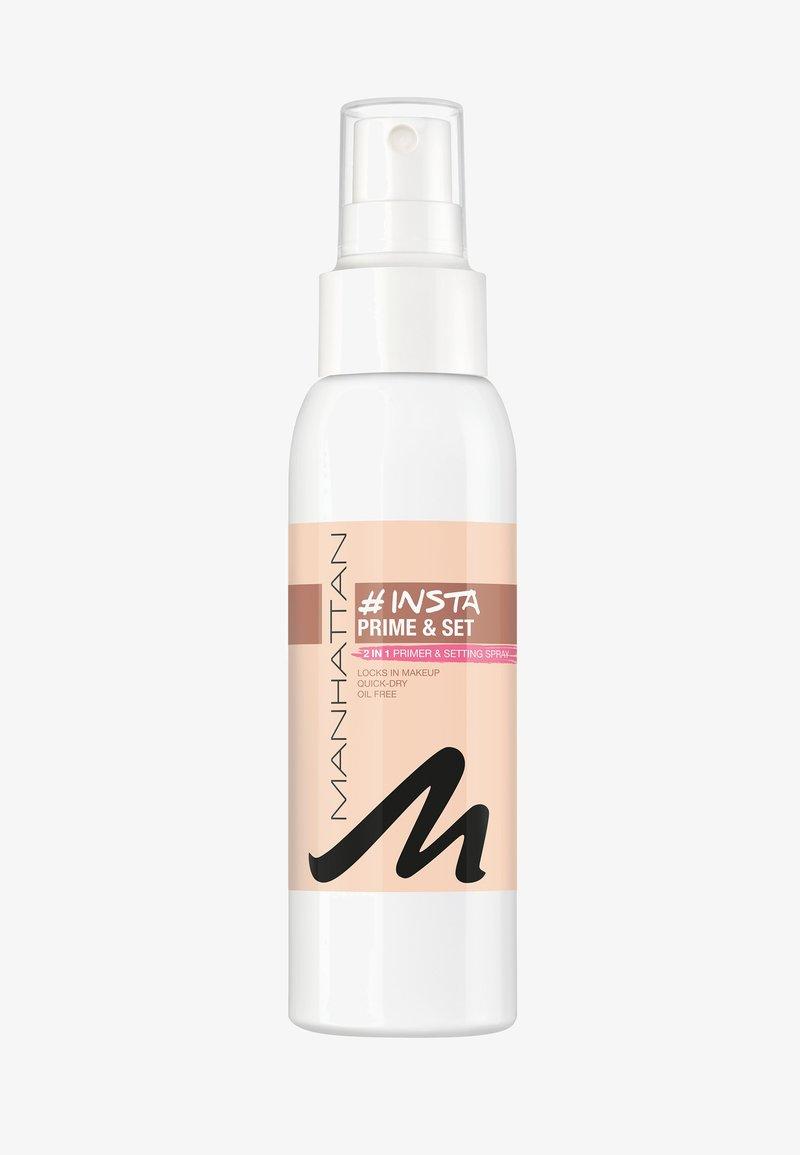 Manhattan Cosmetics - INSTA PRIME & SET SPRAY - Fixeerspray & -poeder - transparent