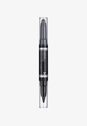 EYEMAZING DOUBLE EFFECT EYESHADOW & LINER - Lidschatten - 001 In the black
